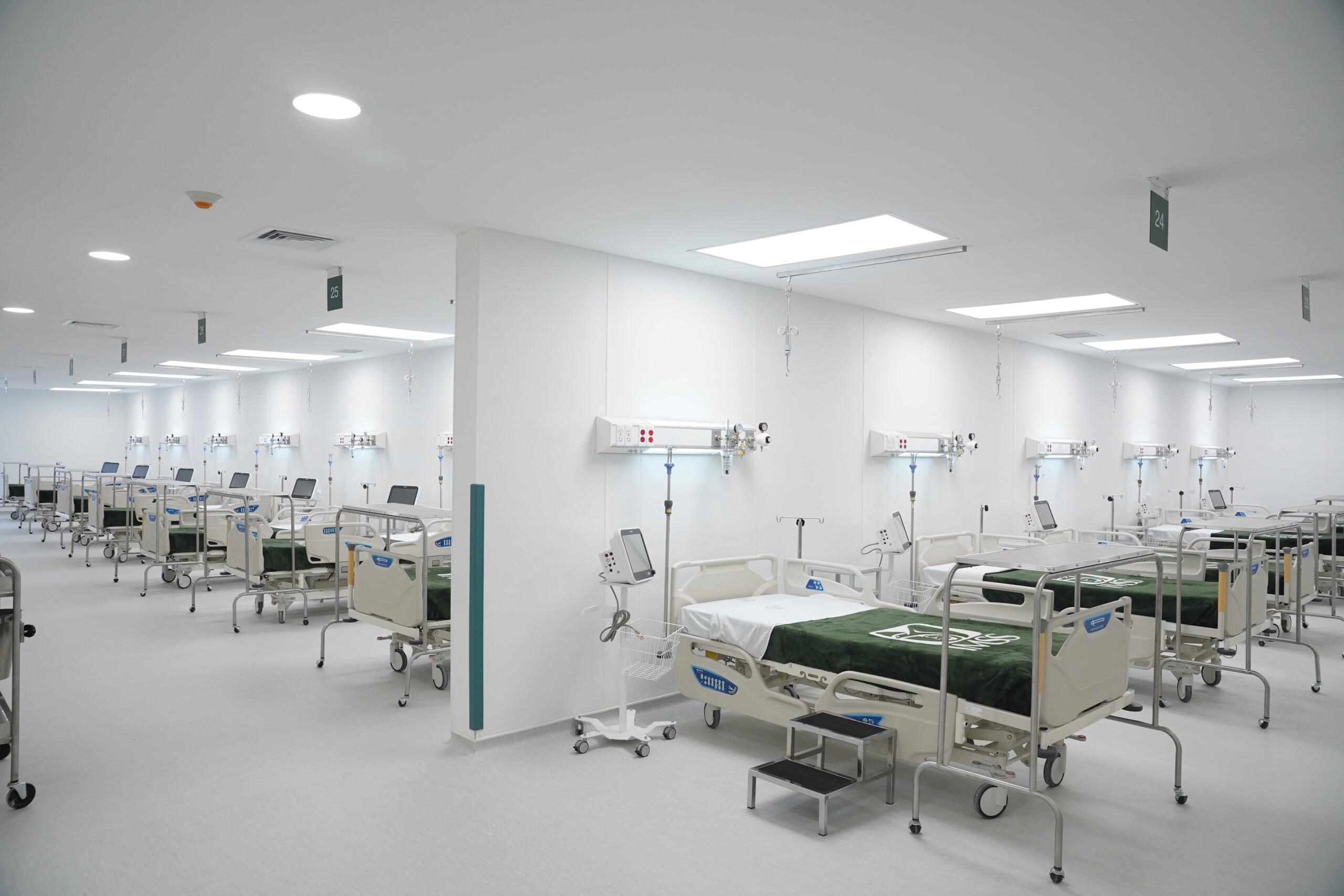 Instalación de hospital COVID-19