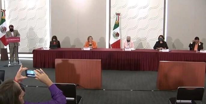 Conferencia de prensa del GIEV, 25 de agosto de 2020