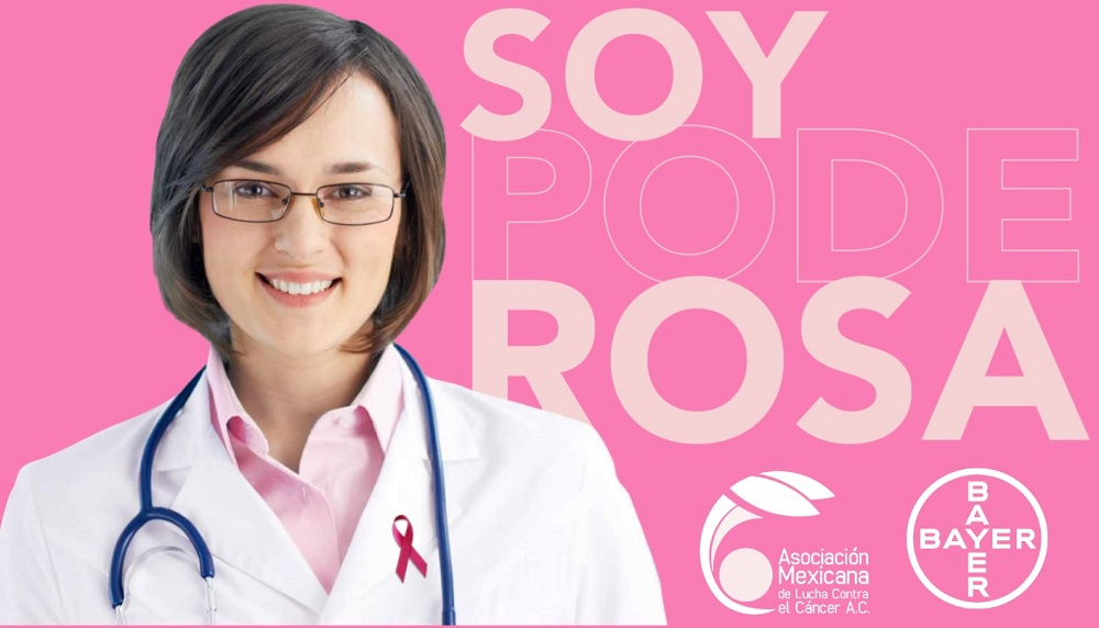 mes rosa. cartel