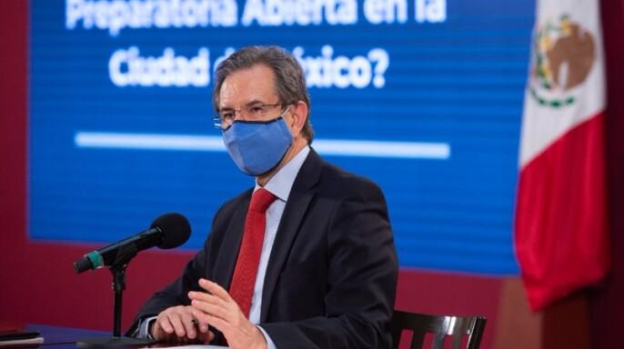 Secretario de Educación Pública, Esteban Moctezuma Barragán