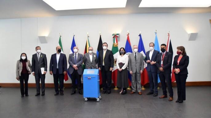 evento realizado hoy en la Secretaría de Relaciones Exteriores