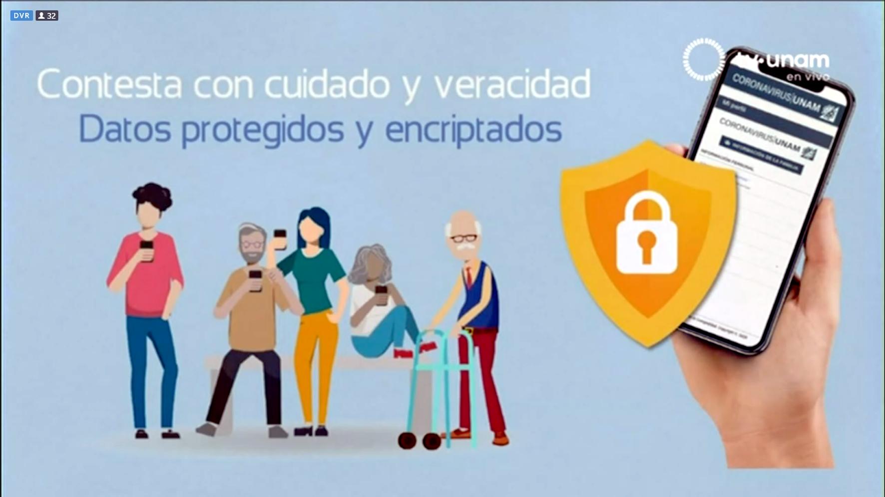 aplicación Coronavirus/UNAM v2.0