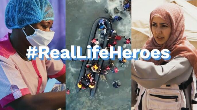 #RealLifeHeroes