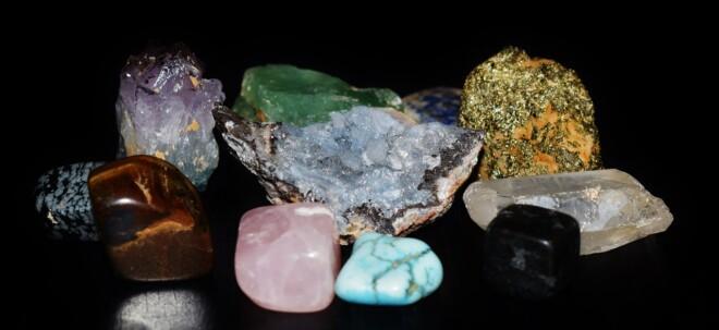 Diferentes gemas.