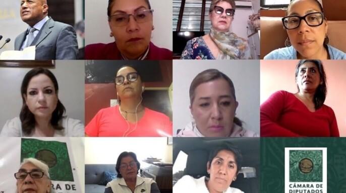 Reunión de trabajo de la Comisión de Derechos Humanos