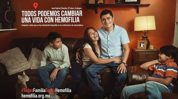 cartel #TodosFamiliaTodoshemofilia
