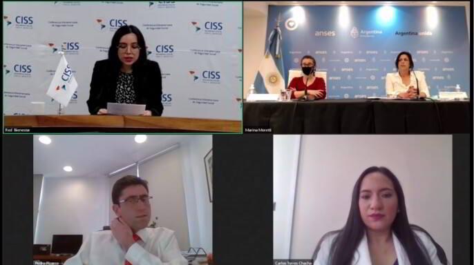 """Videoconferencia Foro Virtual """"Jornadas de experiencias interamericanas para la incorporación de trabajadoras del Hogar a la Seguridad Social"""""""
