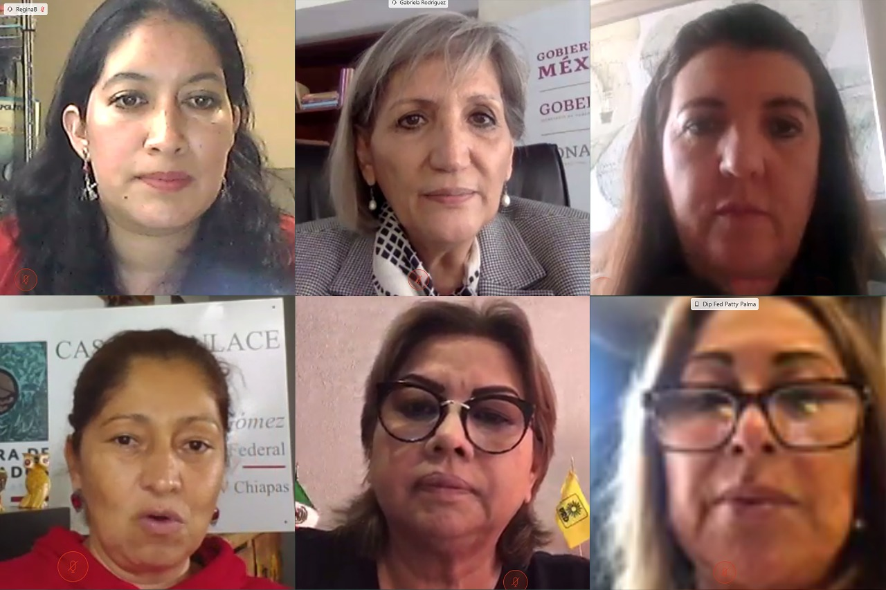 Reunión de la Comisión de Igualdad de Género con la Secretaria General de CONAPO