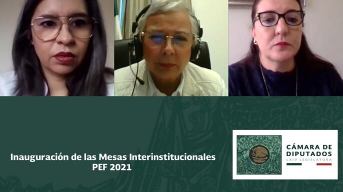 Mesas Interinstitucionales PEF 2021