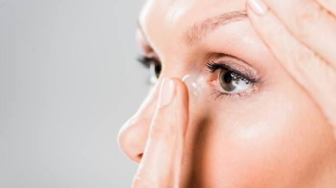lente de contacto