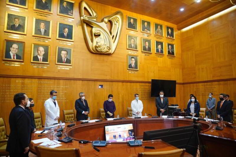 En las instalaciones del IMSS se realizó la sesión del Consejo de Salubridad General para conmemorar el Día Mundial de la Seguridad del Paciente.