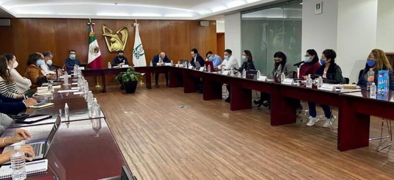 Reunión del grupo de trabajo para la atención de pacientes pediátricos bajo tratamiento oncológico
