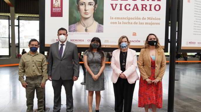 Exposición Leona Vicario: la emancipación de México con la lucha de las Mujeres