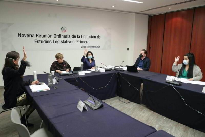 Comisión de Estudios Legislativos, Primera, que preside la senadora Mayuli Latifa Martínez Simón