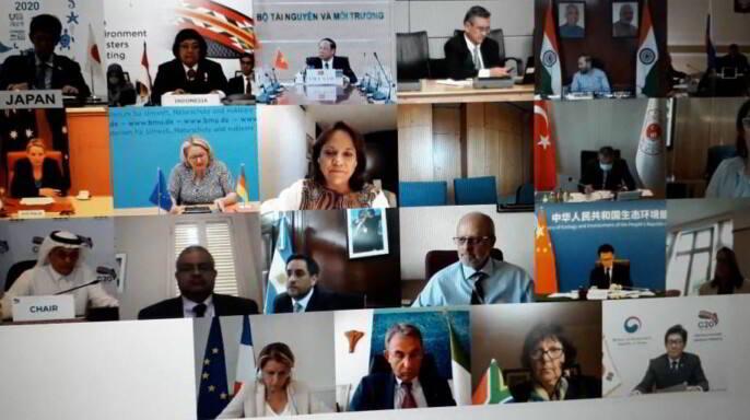 Reunión Ministerial de Medio Ambiente del G-20