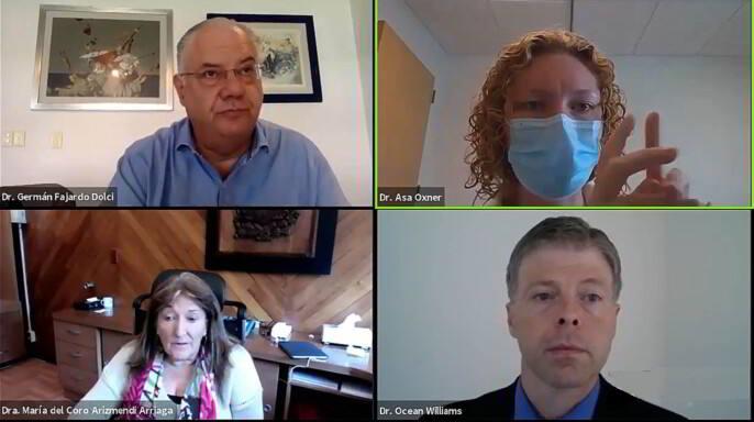 """conferencia en línea (webinar) """"Retos de la educación médica en tiempos de COVID-19"""""""
