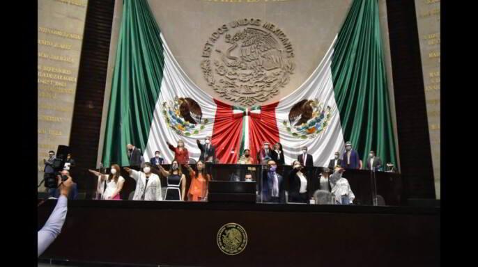 Toma de protesta Dulce María Sauri Riancho es electa presidenta de la Mesa Directiva de la Cámara de Diputados