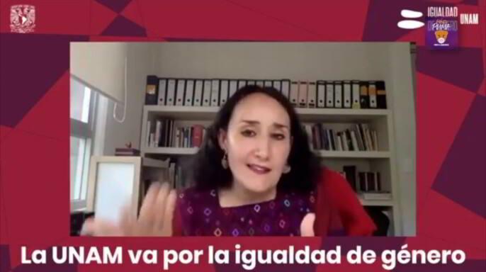 Mónica González Contró, titular de la Oficina de la Abogacía General