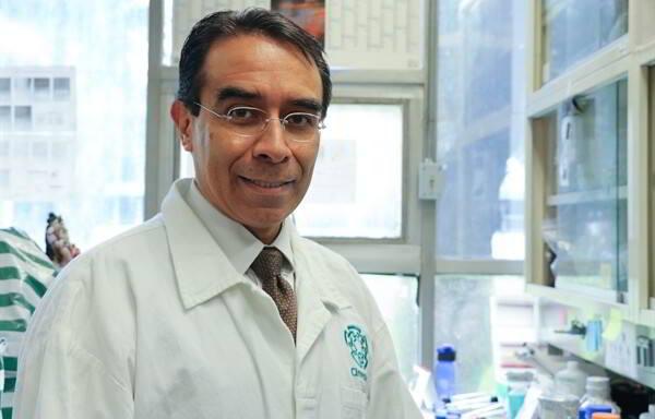Jaime García Mena, investigador del Departamento de Genética y Biología Molecular del Cinvestav