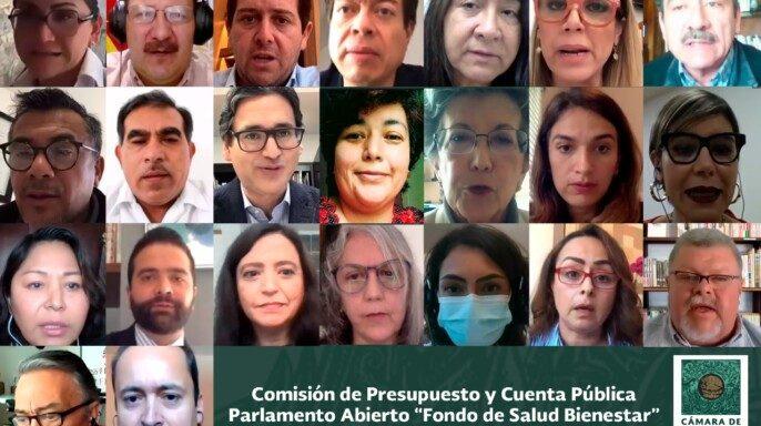 """Parlamento Abierto """"Fondo de Salud para el Bienestar"""""""