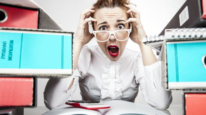 Estrés Oficina de Trabajo