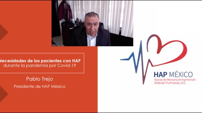 Pablo Trejo, presidente de la Asociación Mexicana de Hipertensión Arterial Pulmonar