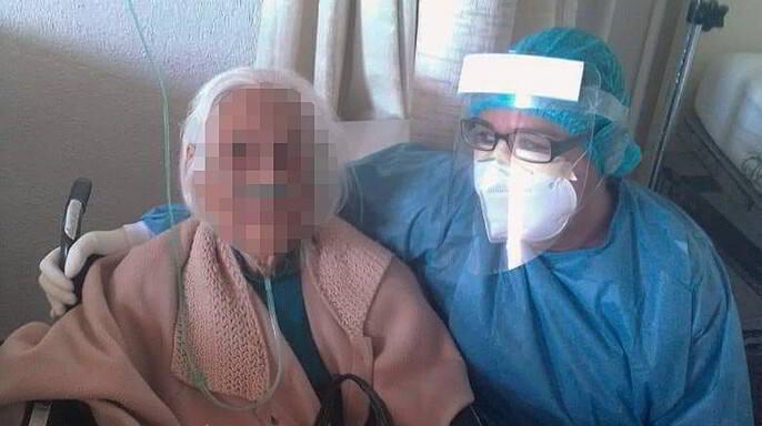 Con 103 años de edad se recupera de COVID-19