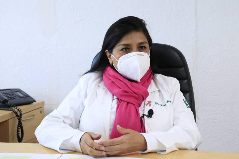 Doctora Ivonne Mejía Rodríguez, Titular de la División de Prevención y Detección de Enfermedades del IMSS