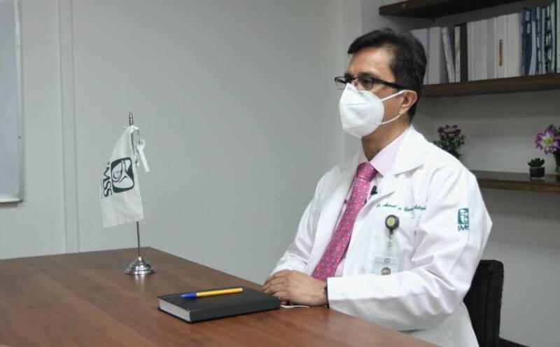 Doctor Manuel Antonio Cisneros Salazar. coordinador de Programas Médicos, de la Coordinación de Atención Integral a la Salud en el Primer Nivel.