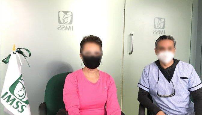 Genoveva, derechohabiente del IMSS, superó cáncer de mama