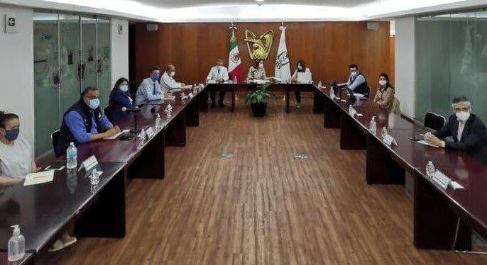 Séptima sesión del grupo de trabajo entre autoridades del Instituto Mexicano del Seguro Social (IMSS) y madres y padres de pacientes pediátricos con tratamientos oncológicos del IMSS