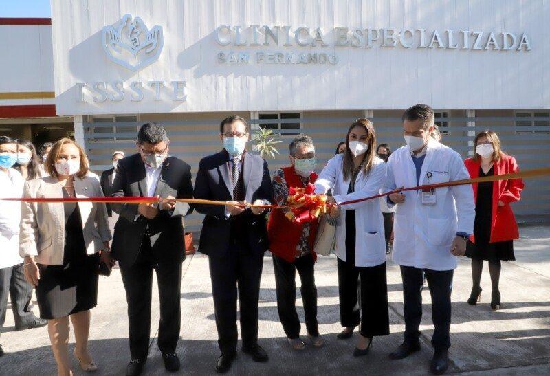 Inaugura el ISSSTE clínica especializada para atender a pacientes con VIH