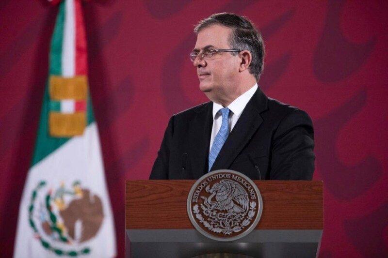 secretario de Relaciones Exteriores, Marcelo Ebrard Casaubon