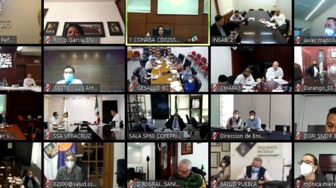 Tercera Reunión Ordinaria del Consejo Nacional de Salud (Conasa) 2020