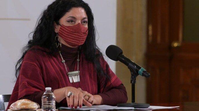 secretaria de Cultura, Alejandra Frausto Guerrero