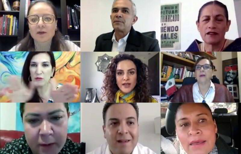 reunión a distancia, las Comisiones Unidas para la Unidad de Género; y de Estudios Legislativos Segunda