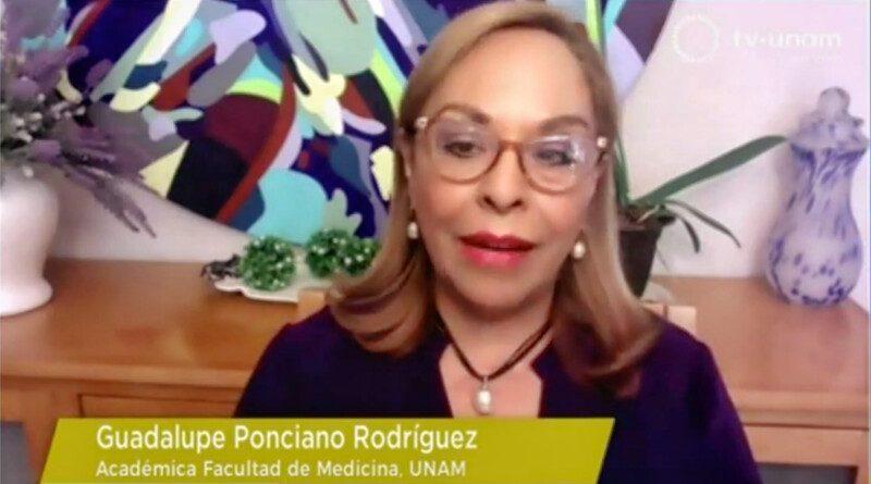 Guadalupe Ponciano de la Facultad de Medicina