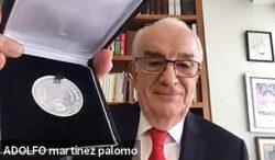 Adolfo Martínez Palomo, Investigador Emérito del Cinvestav