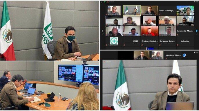 El Director General del IMSS sostiene reunión de trabajo con el Consorcio Mexicano de Hospitales para realizar un balance de los resultados obtenidos en el trabajo conjunto