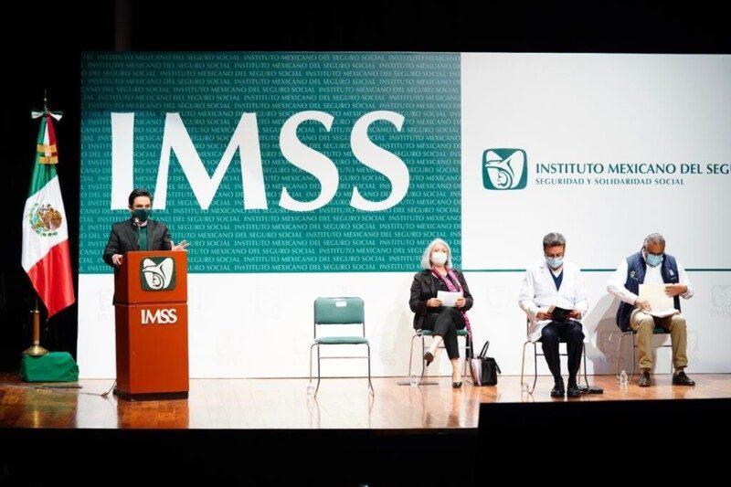 Conferencia de prensa IMSS