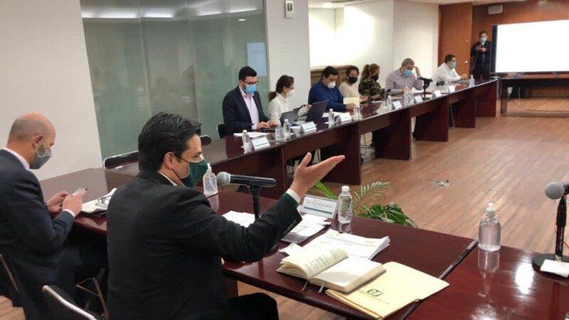 novena sesión del grupo de trabajo entre autoridades de la institución y mamás y papas de pacientes pediátricos con tratamientos oncológicos