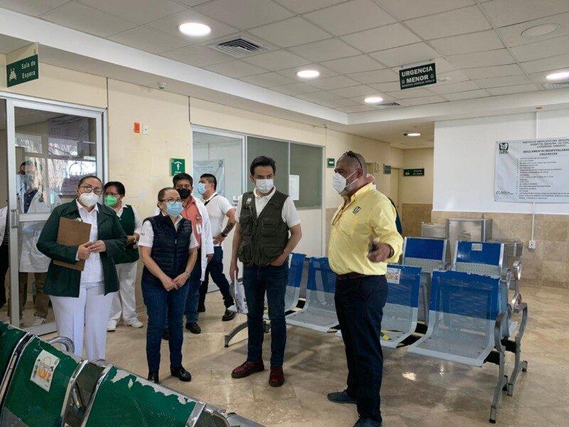 El director general del Instituto Mexicano del Seguro Social (IMSS), Maestro Zoé Robledo, realizo un recorrido en el municipio de Cárdenas