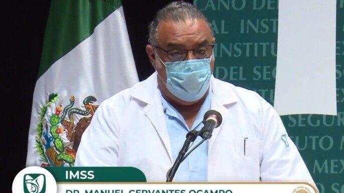 doctor Manuel Cervantes Ocampo, titular de la Coordinación de Atención Integral a la Salud en el Primer Nivel del Seguro Social