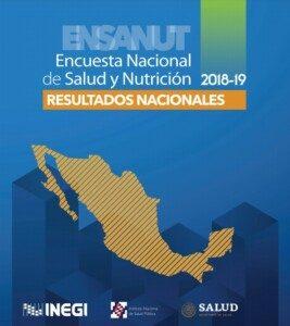Portada de Encuesta Nacional de Salud y Nutrición (Ensanut) 2018-2019