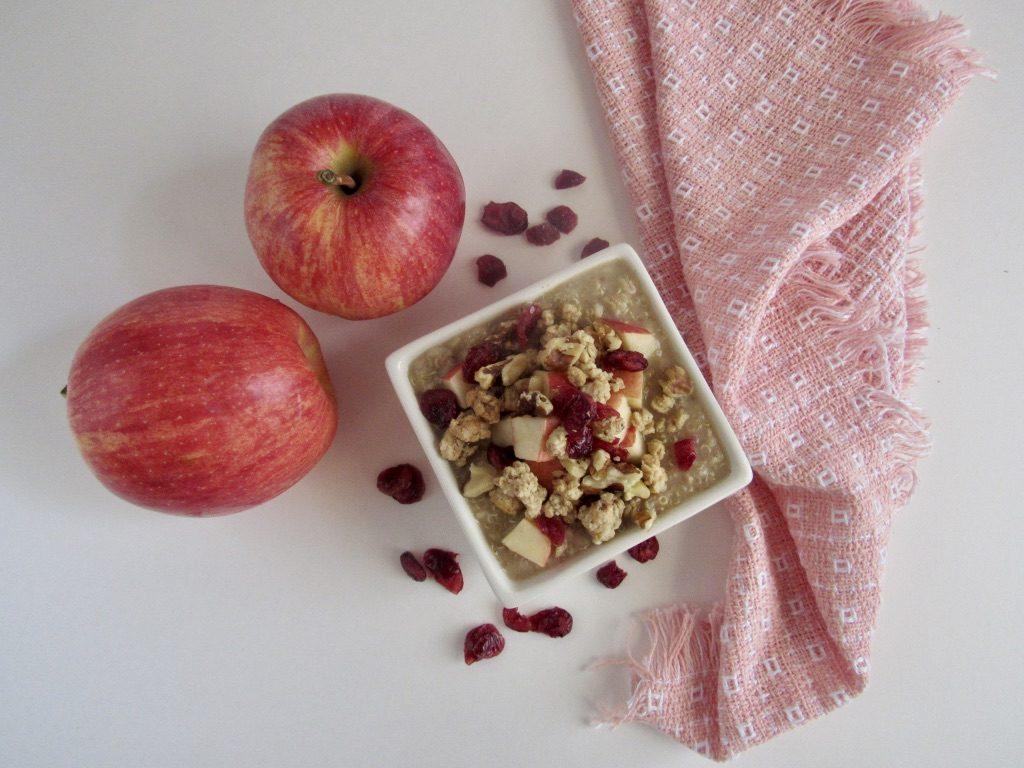 Quinoa, Oatmeal & Fruit Parfait