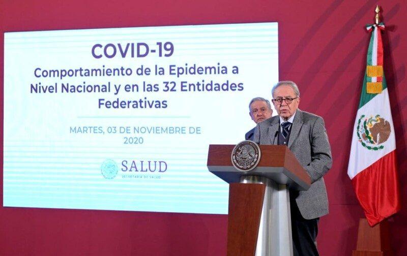secretario de la Salud, Jorge Alcocer Varela