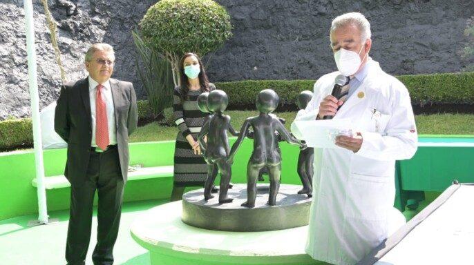 ceremonia por el 50 aniversario del Instituto Nacional de Pediatría (INP)