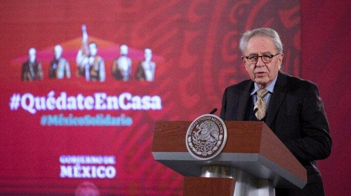secretario de Salud Jorge Alcocer Varela