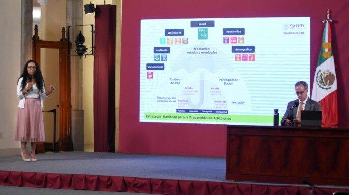 Directora de Vinculación y Coordinación Operativa de la Conadic, Evalinda Barrón Velázquez