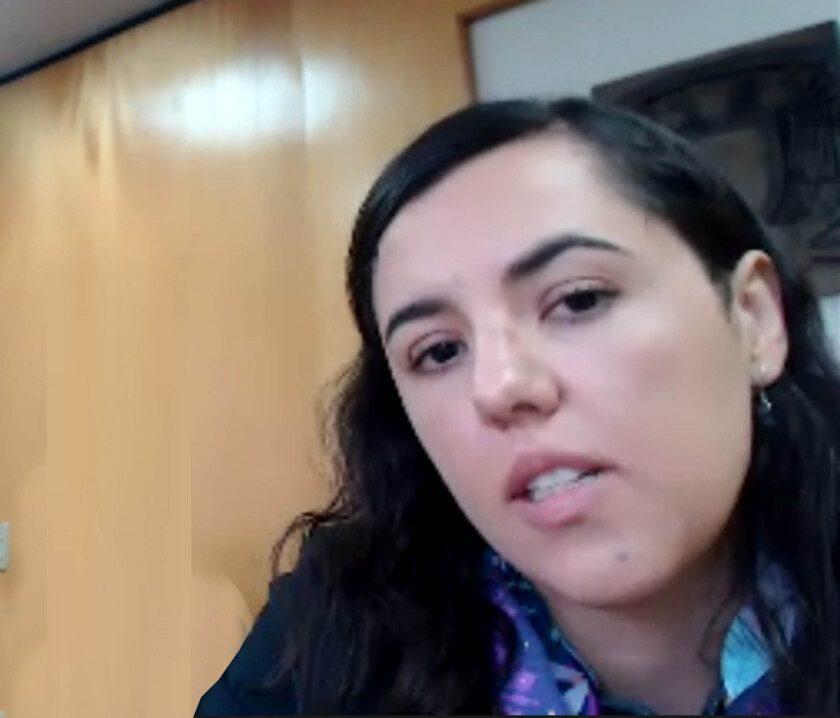 Gina Prado Prone, egresada del Posgrado en Ciencia e Ingeniería de Materiales